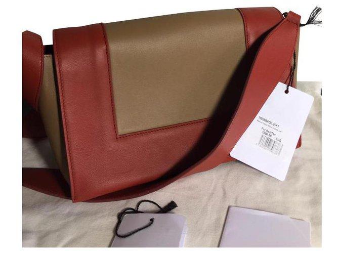 Céline CELINE FRAME Handbags Leather Multiple colors ref.134210