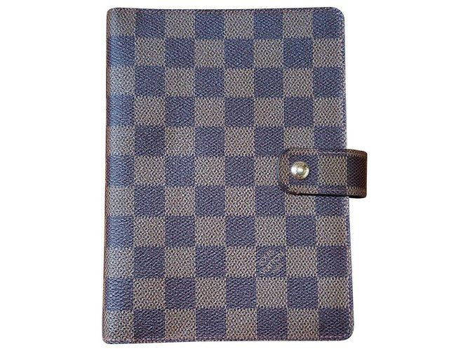 Louis Vuitton Agenda louis vuitton Wallets Small accessories Leather Brown ref.135000
