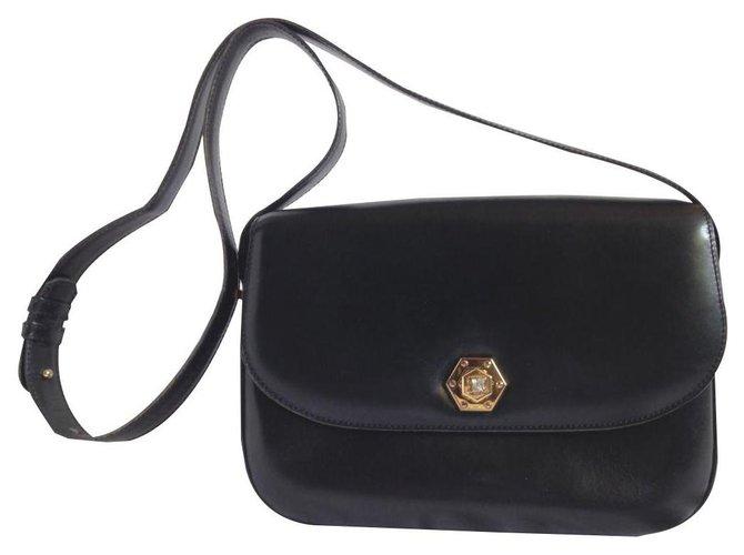 Céline VINTAGE TRIUMPH Handbags Leather Black ref.136195