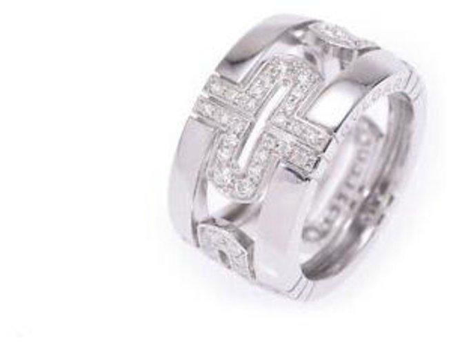 Bagues Bulgari Bague Bulgari Diamant Or blanc Blanc ref.136289