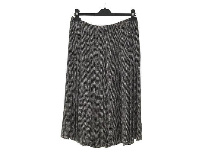 Céline Skirts Skirts Silk Black ref.136330