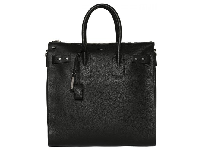 Saint Laurent Saint Laurent handbag new Bags Briefcases Leather Black ref.136383