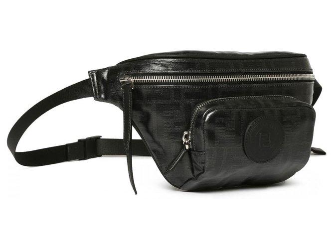 Fendi Fendi bumbag new Bags Briefcases Leather Black ref.136417