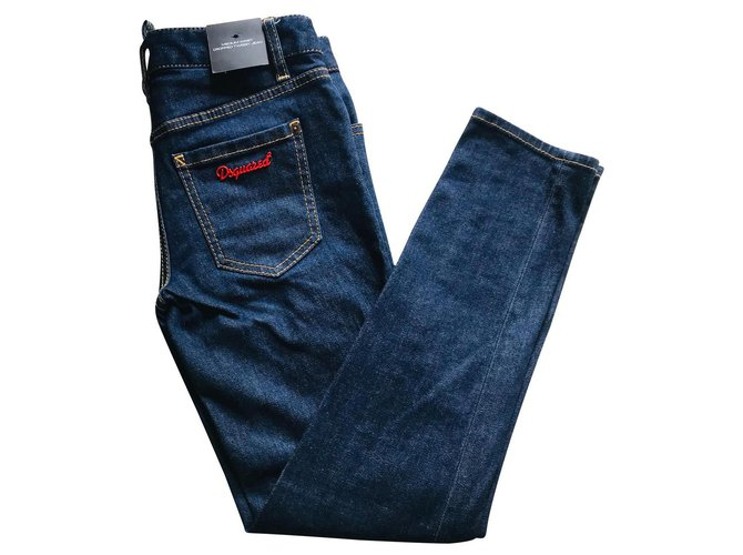 Jeans Dsquared2 Desquared2 Jean Bleu ref.136719