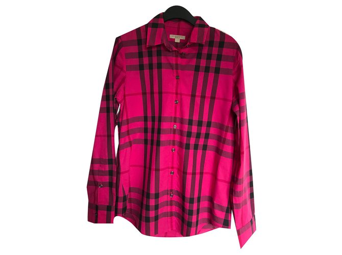 Burberry Tops Tops Cotton Pink ref.137122