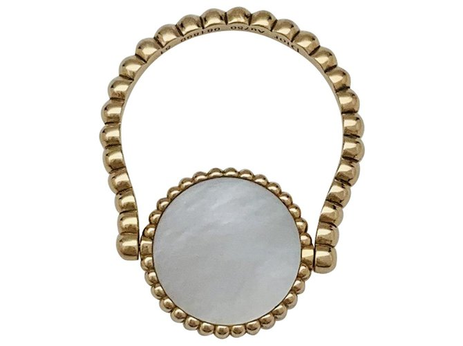 """Bagues Dior Bague Dior """"Rose des Vents"""" en or jaune, nacre et diamant. Autre,Or jaune Autre ref.137387"""