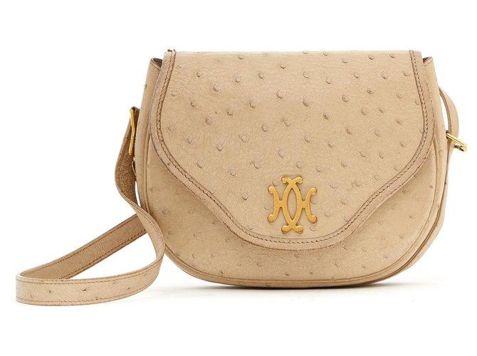 Hermès LIFT BEIGE OSTRICH Handbags Other Beige ref.137394