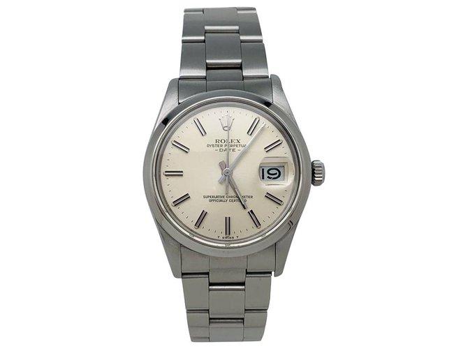 "Rolex Rolex watch, ""Oyster Perpertual Date"", steel on steel. Misc Steel Other ref.138223"