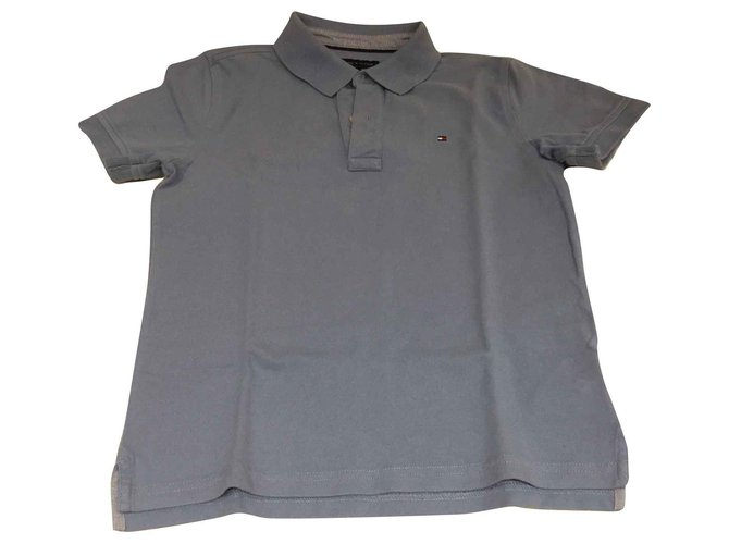 Tommy Hilfiger Polo for boys Tops Tees Cotton Blue ref.138889