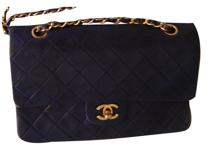 Chanel TIMELESS Handbags Leather Black ref.139688