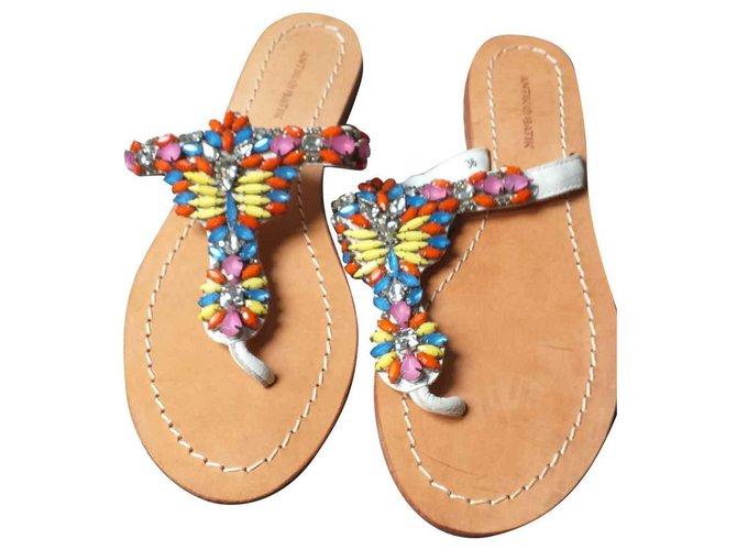 Antik Batik Sandales Antik Cuir Batik Batik Femme Antik Sandales Cuir Femme 7f6vbyYg
