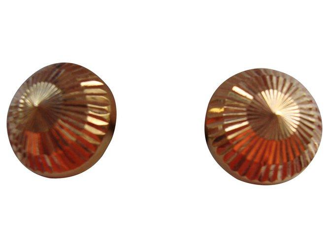 Boucles d'oreilles Autre Marque Boucles d'oreilles Or jaune Jaune ref.140001