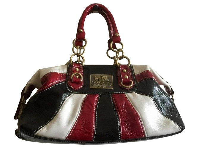 Coach Madison Handbag Handbags Patent Leather Black