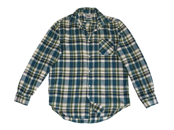 Acne Camisas Camisas Algodão Multicor ref.141468