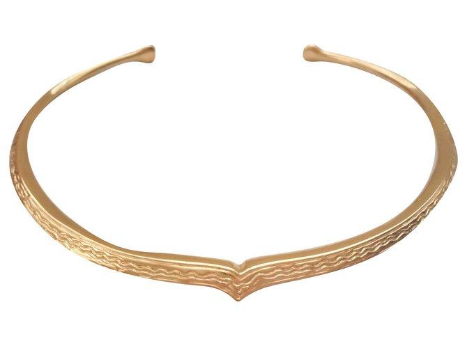 Aurelie Bidermann Necklaces Necklaces Metal,Gold-plated Golden ref.141563