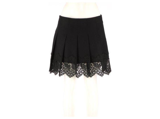 Burberry Skirt suit Skirts Wool Black ref.142292