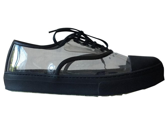 Céline Sneakers Sneakers Leather Black ref.143266