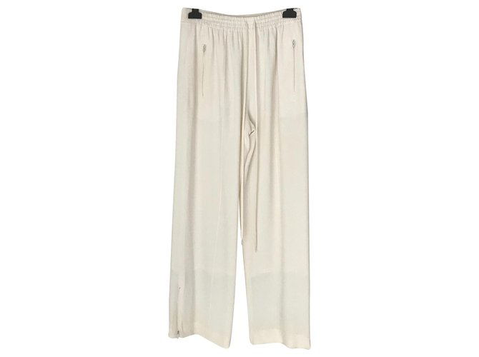 Chloé Pants, leggings Pants, leggings Synthetic White ref.143675