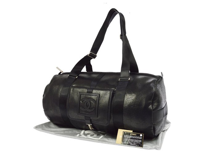 Chanel Bag CHANEL SPORT Chic way Reptile Timeless Bags Briefcases Other Black ref.143939