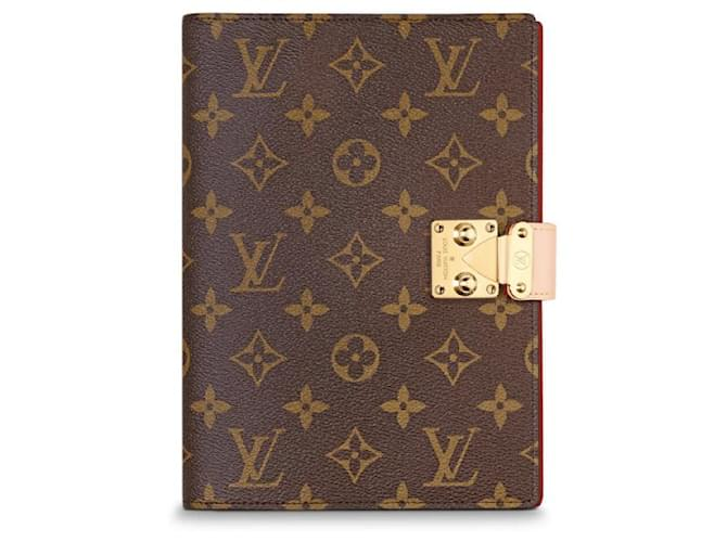 Louis Vuitton Louis Vuitton notebook new Purses, wallets, cases Leather Brown ref.144127