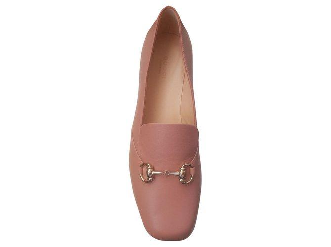 pink gucci flats