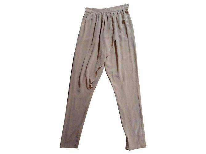 Chloé Pants, leggings Pants, leggings Silk Caramel ref.144659