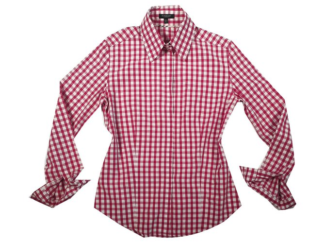 Burberry Tops Tops Cotton Red ref.145048