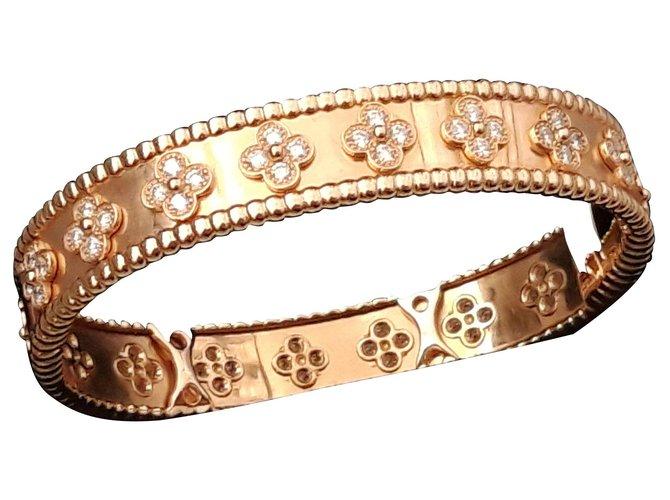 Bracelets Van Cleef & Arpels Bracelets Or rose Rose ref.146635