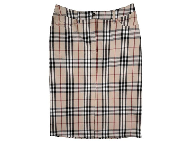 Burberry Skirts Skirts Cotton Multiple colors ref.146697