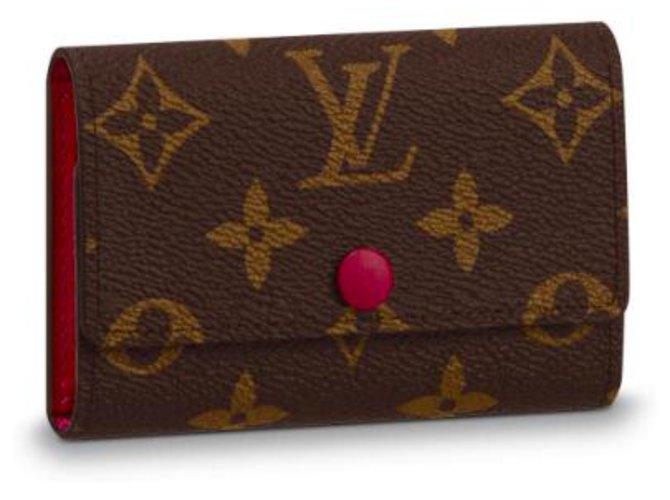 Louis Vuitton Key Holder Louis Vuitton Purses, wallets, cases Leather Brown ref.147162