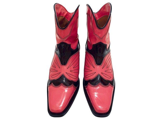 Ganni Meg western boots Ankle Boots