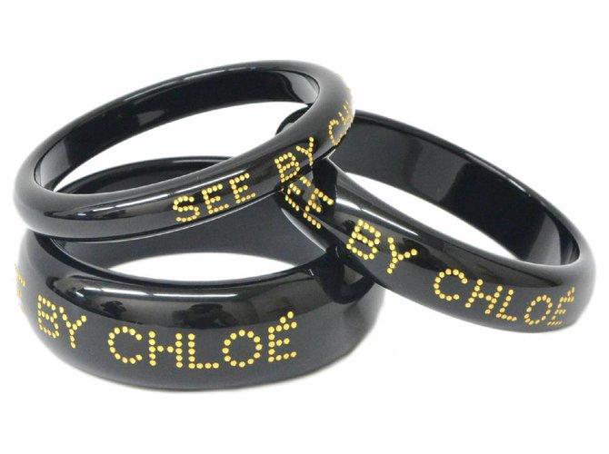 Chloé Chloé See 3 sets bracelets Bracelets Plastic Golden ref.148262