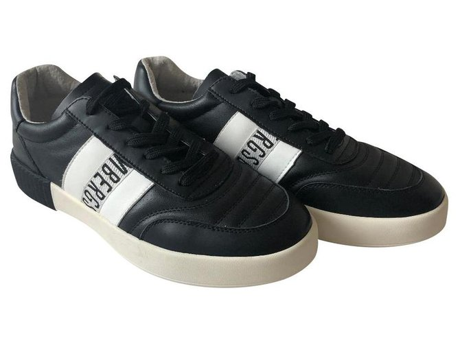 SNEAKERS Sneakers Leather,Nylon
