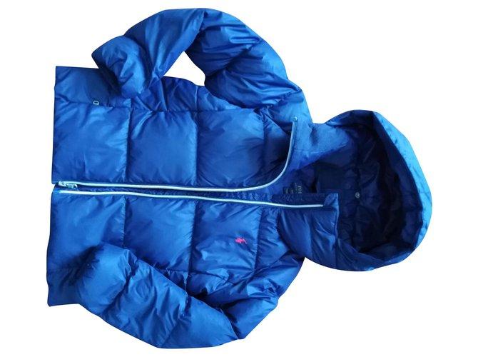 Polo Ralph Lauren LOGO Boy Coats Outerwear Other Blue ref.150698