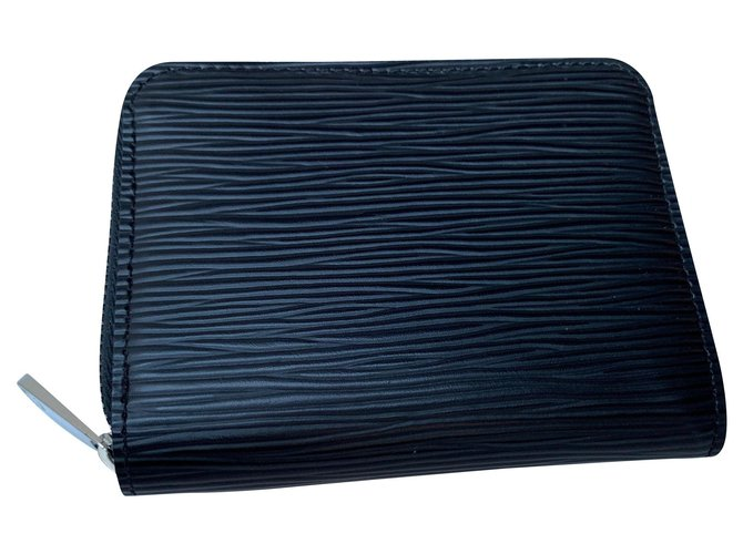 Louis Vuitton Zippy wallet Purses, wallets, cases Leather Black ref.150726