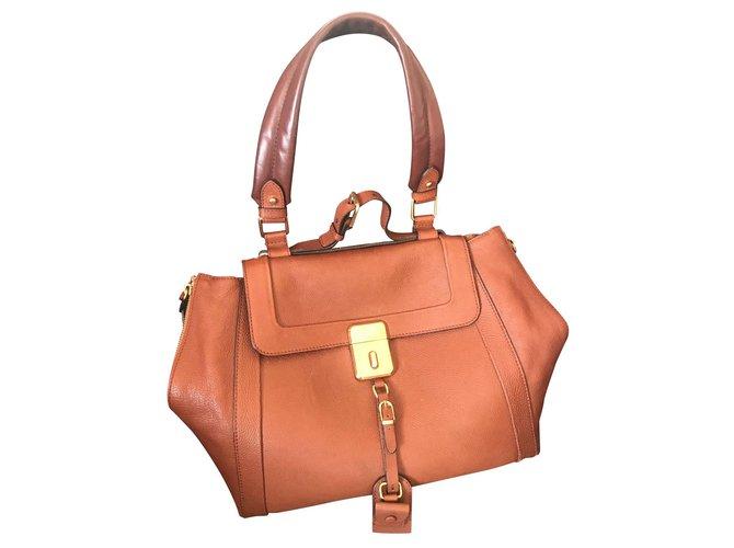 Chloé Handbags Handbags Leather Brown ref.151452
