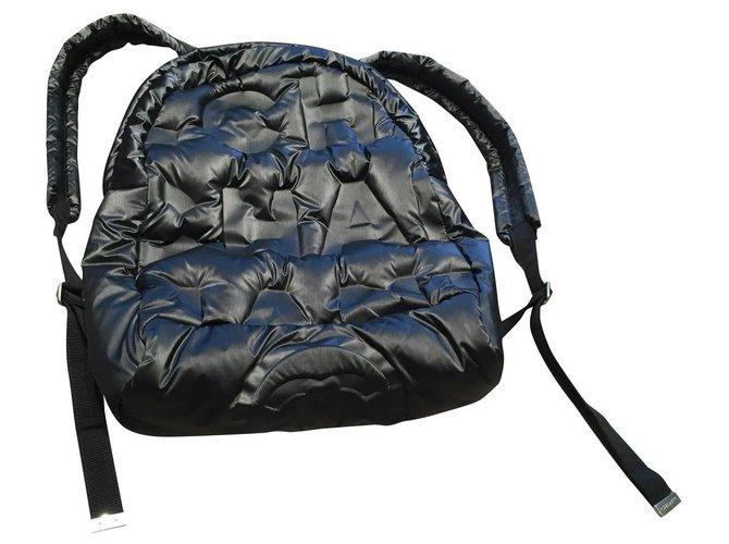Chanel Backpacks Backpacks Nylon Black ref.151459