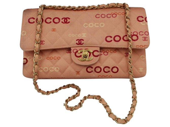 Chanel Handbags Handbags Cloth Pink ref.151900