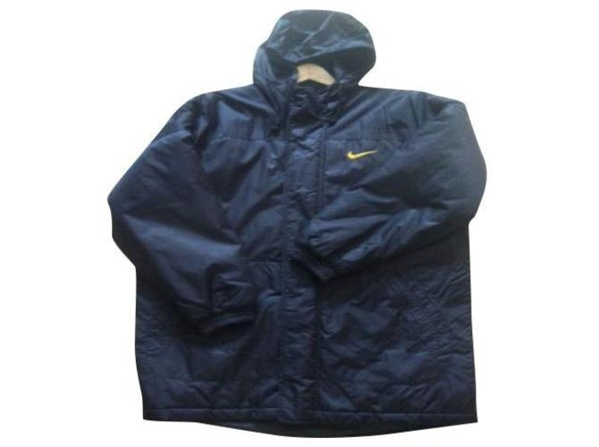 Nike Parka 3/4 Men Coats Outerwear Synthetic Black ref.152921