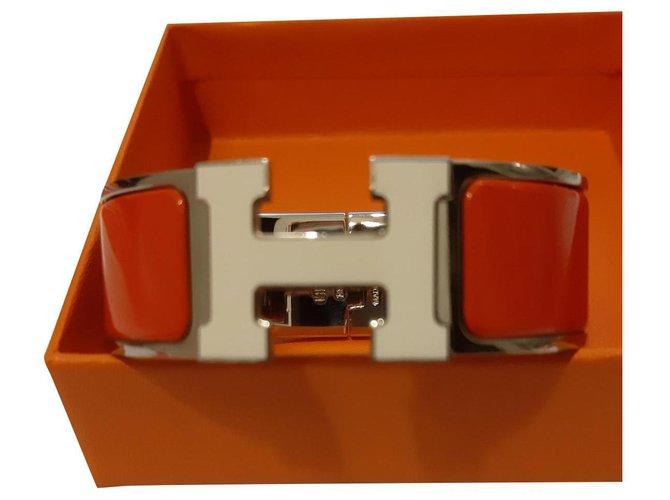 Bracelets Hermès Bracelets Métal Orange ref.153689