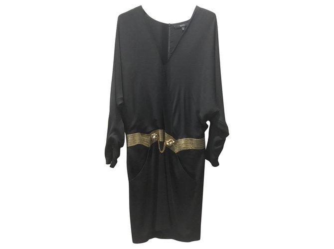 Robes Gucci Robes Soie Noir ref.153900