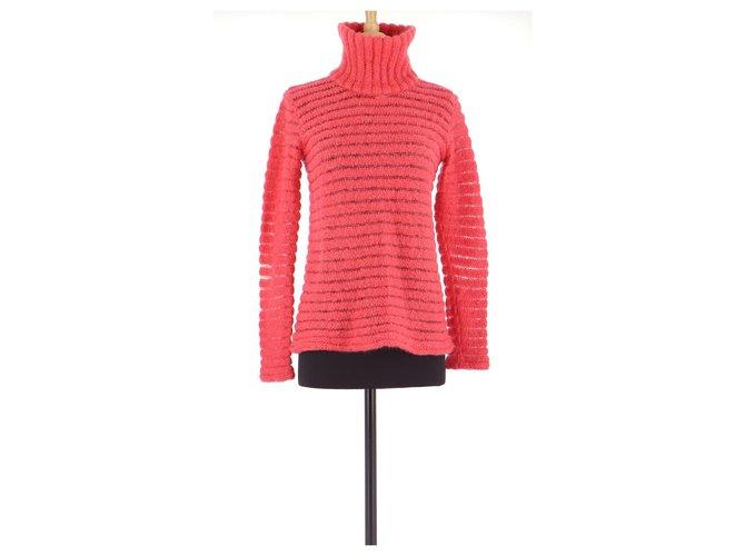 Chloé Sweater Knitwear Mohair Fuschia ref.154384