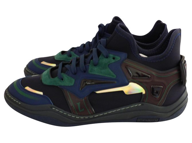 Lanvin SNEAKERS DIVING MID-HIGH