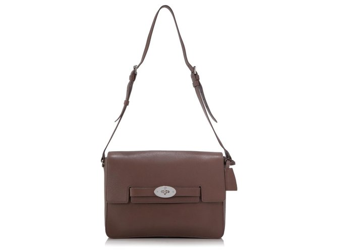 Mulberry Mulberry Brown Leather Shoulder Bag Handbags Leather,Other Brown ref.154803