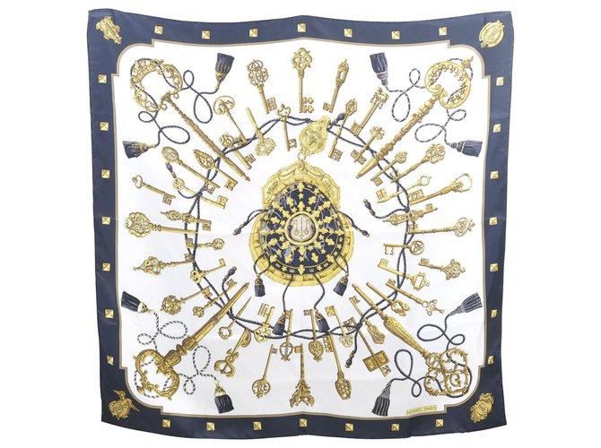 Hermès Hermès scarf Silk scarves Silk Black ref.155997