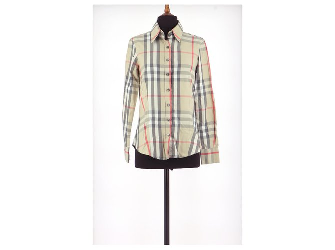 Burberry Shirt Tops Cotton Multiple colors ref.156172