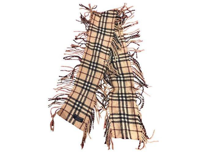 Burberry Scarves Scarves Wool Beige ref.156546
