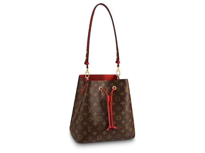Louis Vuitton LV NeoNoe monogram canvas new Handbags Leather Brown ref.157022