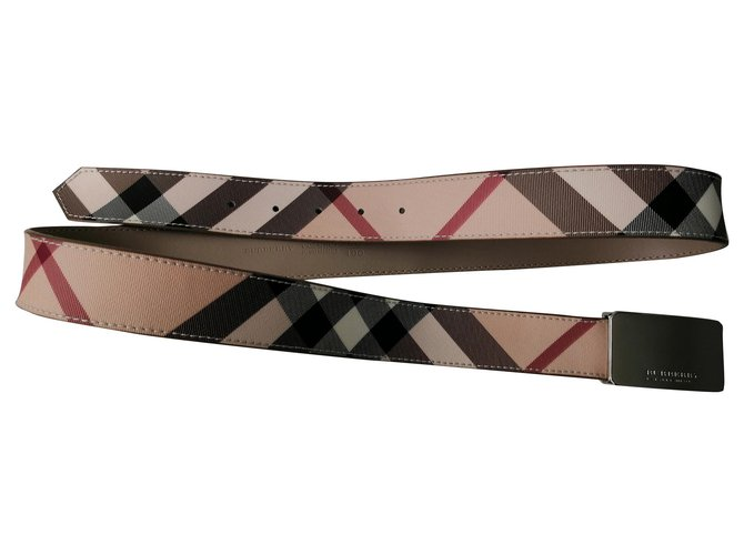 Burberry Belts Belts Leather Beige ref.157089