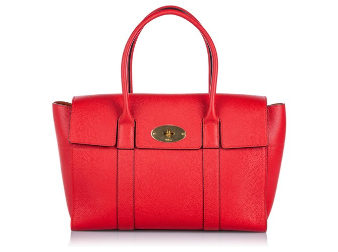 Mulberry Mulberry Red New Bayswater Handbag Handbags Leather,Other Red ref.157615